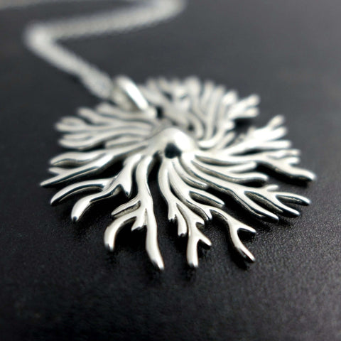 Dictyostelium Slime Mold Pendant Pendant [Ontogenie Science Jewelry]