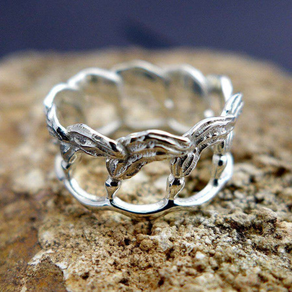 Kelp Ring Ring [Ontogenie Science Jewelry]