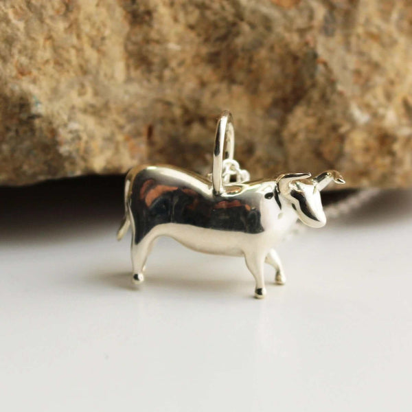 Lascaux Bull Pendant Pendant [Ontogenie Science Jewelry]