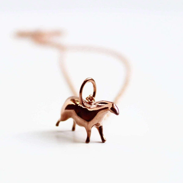 Lascaux Horse Pendant Pendant [Ontogenie Science Jewelry]