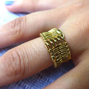 Cell Membrane Ring [Ontogenie Science Jewelry] biology ring