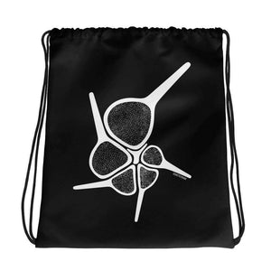 Foraminiferan Hantkenina Drawstring Bag Science Gift