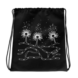Aspergillus Fungus Drawstring Bag Science Gift