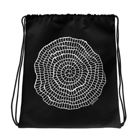 Nummulites Foraminiferan Drawstring Bag Science Gift