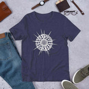 Radiolarian Spumellaria Unisex T-Shirt [Ontogenie Science Jewelry] Heather Midnight Navy XS
