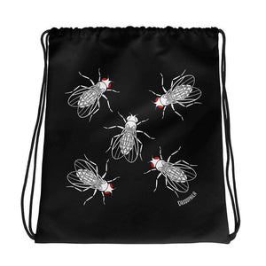 Drosophila melanogaster Fruit Fly Drawstring Bag Science Gift