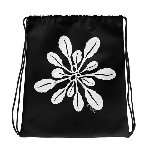 Arabidopsis Rosette Drawstring Bag Science Gift