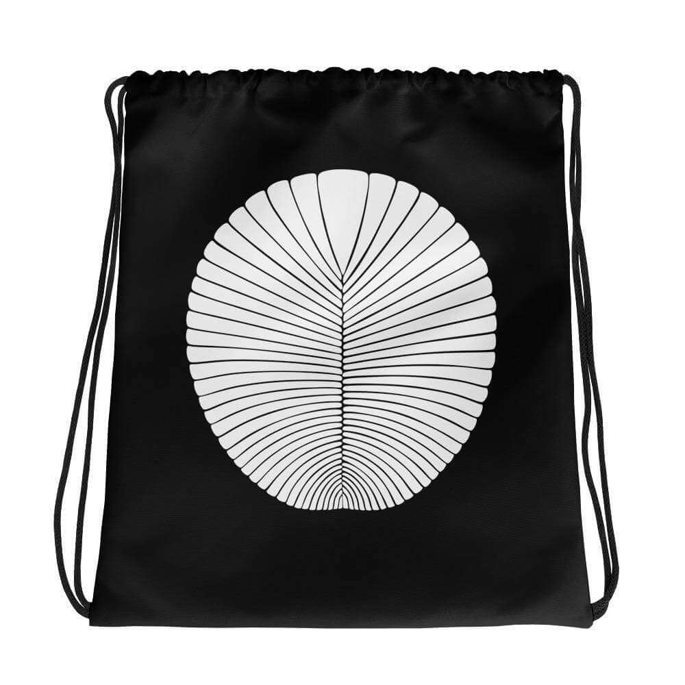 Dickinsonia Fossil Drawstring Bag