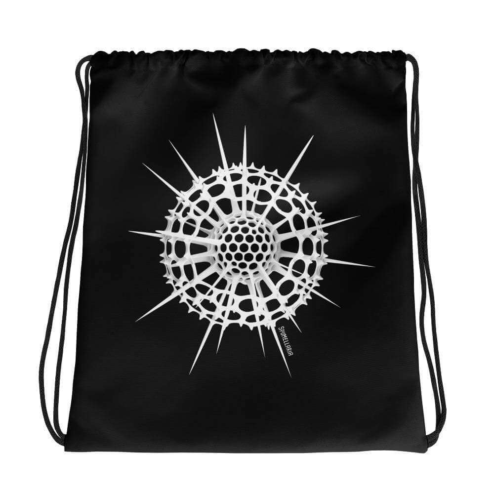 Radiolarian Spumellaria Drawstring Bag Science Gift