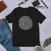 Foraminiferan Nummulites Unisex T-Shirt [Ontogenie Science Jewelry] Black XS
