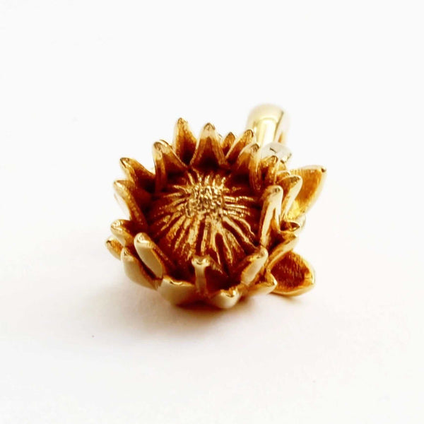 King Protea Pendant Pendant [Ontogenie Science Jewelry]