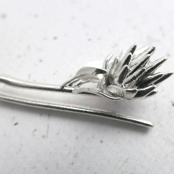 King Protea Tie Bar Tie Bar [Ontogenie Science Jewelry]