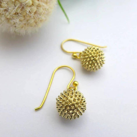 Ragweed Pollen Earrings Earrings [Ontogenie Science Jewelry]