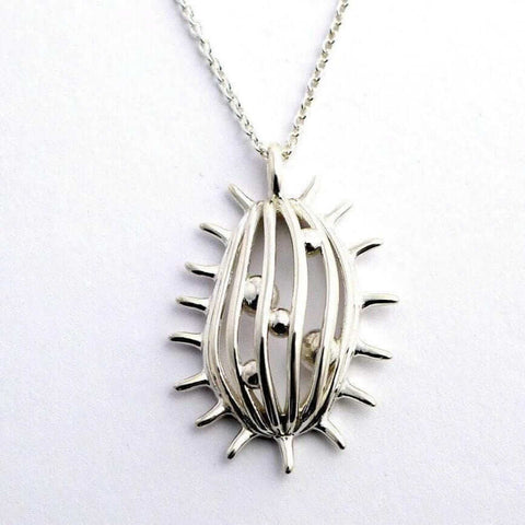 Tetrahymena Ciliate Pendant Pendant [Ontogenie Science Jewelry]
