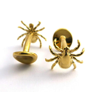 Tick Cufflinks Cufflinks [Ontogenie Science Jewelry] brass