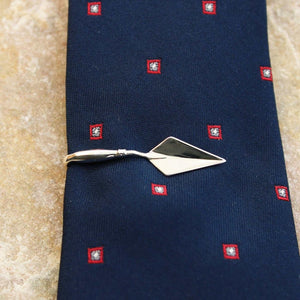 Silver Archaeologist's Trowel Tie Bar