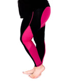 Pink Heart High Waisted Full Length Leggings