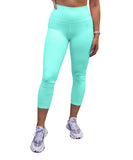 Mint Green High Waisted 7/8 Leggings