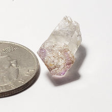 Rutilated Amethyst Crystal scepter point