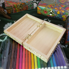DIY Pandemic Woodburned Art Kit with Markers / Covid 19 Memory Box