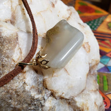 Tumbled Banded Agate Pendant