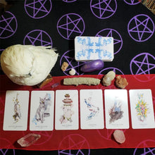 6 Months of Monthly Tarot Card Readings w Basic Birth Chart & Crystal Recommendations
