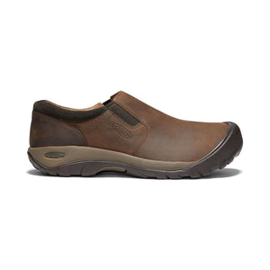 Keen Men's 1019508 Austin Slip On Casual Shoe, Chocolate Brown/Black Olive