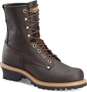 "Carolina Men's 1821 8"" Steel Toe Logger Boot"