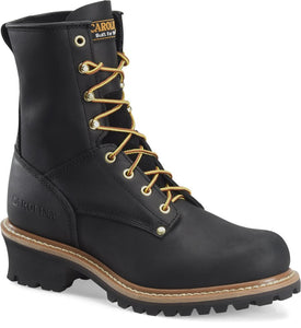 "Carolina Men's 825 8"" Soft Toe Logger Boot"