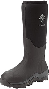 Muck Boot Mens Arctic Sport Tall Boot, Black