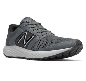New Balance Men's 520 V5 Running Shoes, Black/Grey