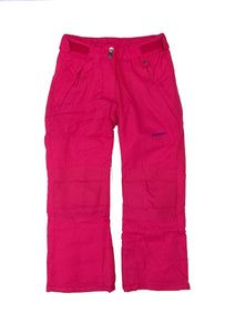 Zermatt Youth Insulated Ski Pants, Fuchsia