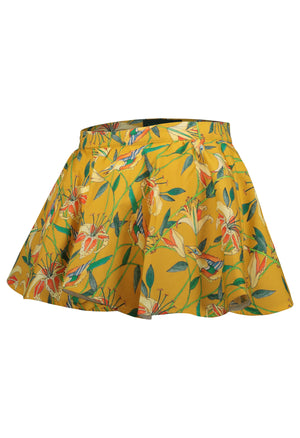 Long dress jacquard scrabble