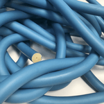 Bulk Small ID Rubber Electric Blue