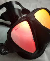 Spear Pro Red Eye Mask with wide field of view