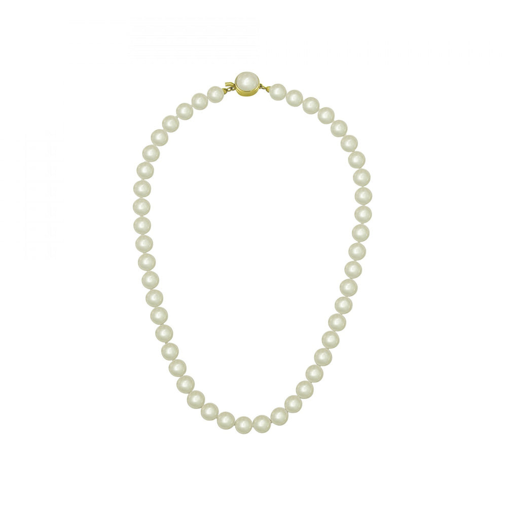 Classic 10mm White Round Pearl Strand