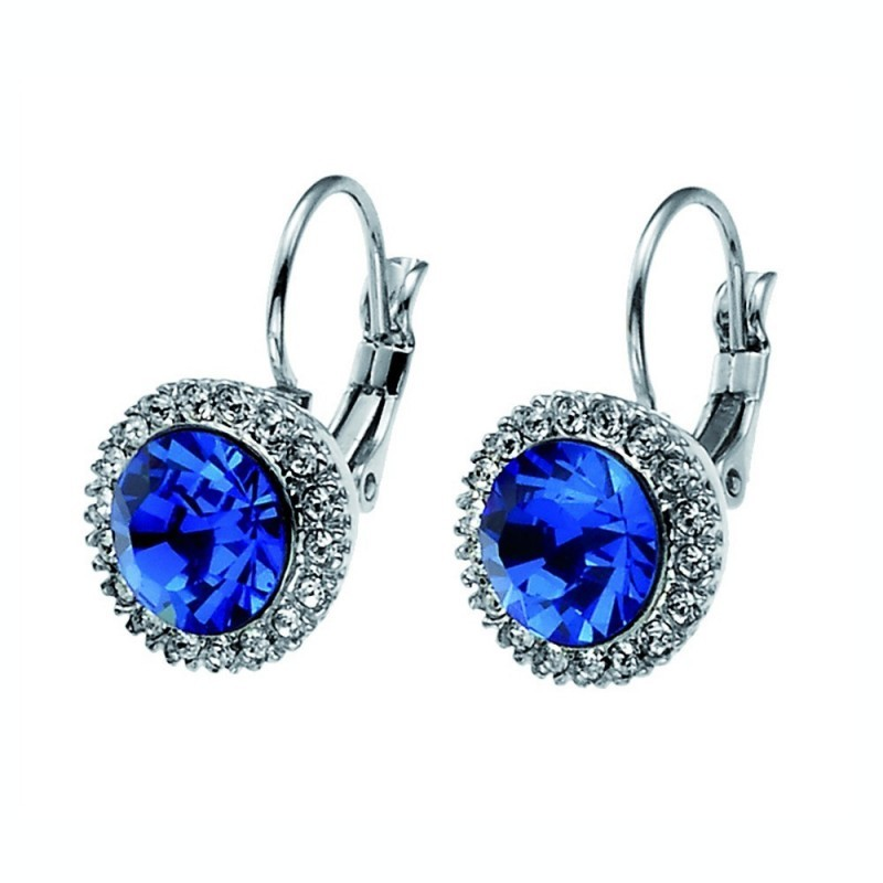 More Earring- Sapphire