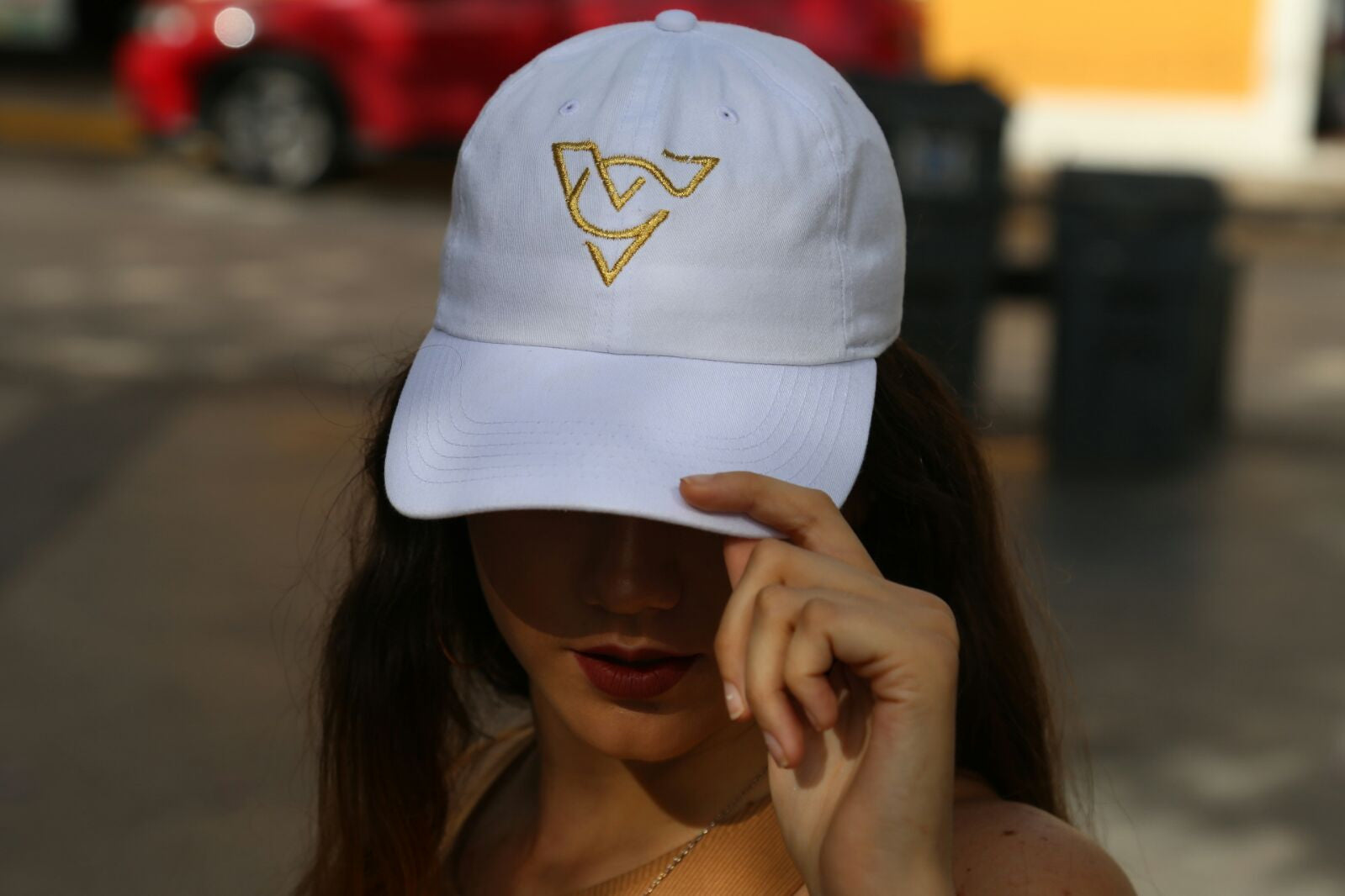 White Verch Cap