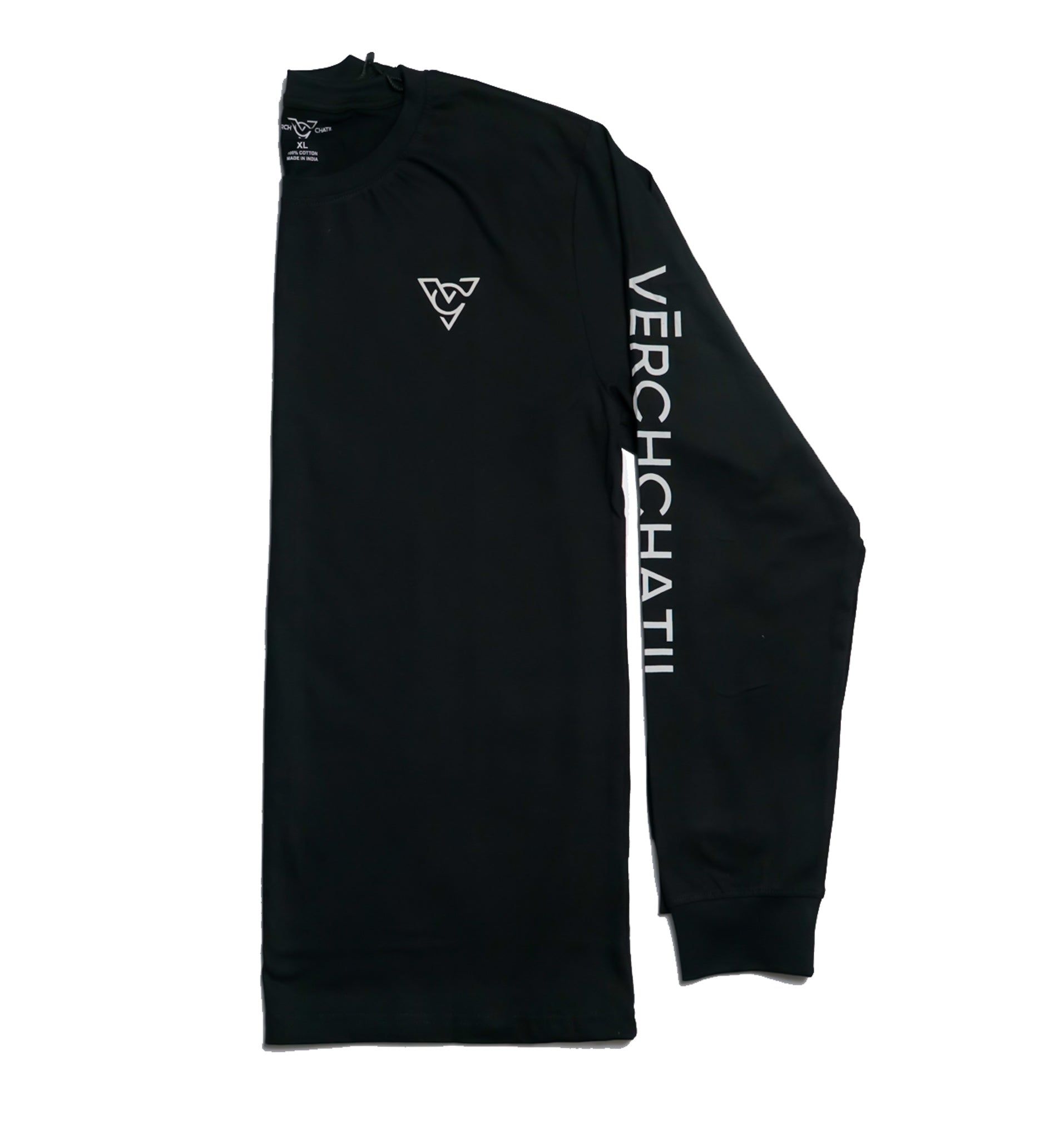 Verch Black Long Sleeve Tshirt