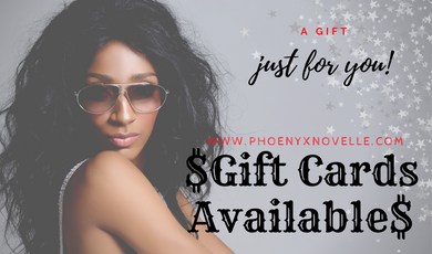 GIFT CARDS AVAILABLE!!!