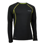 SALMING BALANCE LS TEE<br /> <h6>Black, Safety Yellow</h6>
