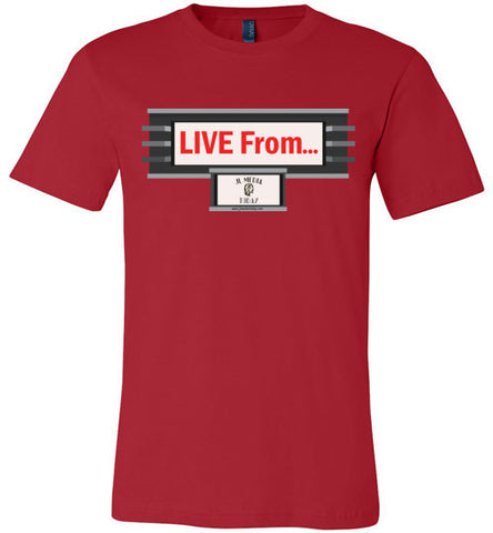Live From.... Podcast Men's T-Shirt - MyMerch.us