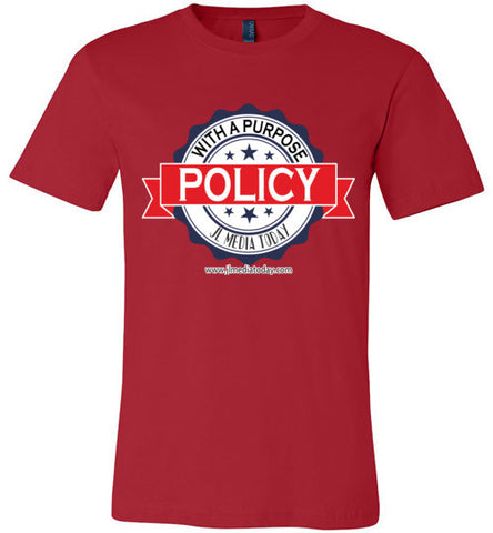 Policy with a Purpose Podcast Men's T-Shirt - MyMerch.us