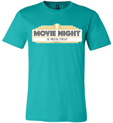 Movie Night Podcast Men's T-Shirt - MyMerch.us