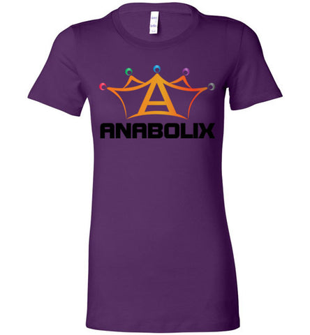 Anabolix Skate Ladies' T-Shirt Team Purple / S - MyMerch.us