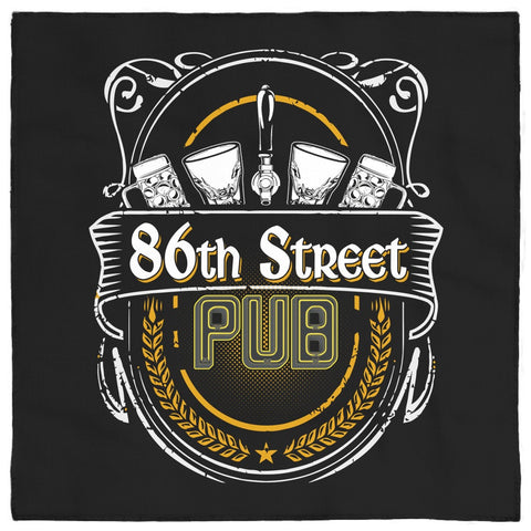 86th Street Pub Bandana - MyMerch.us