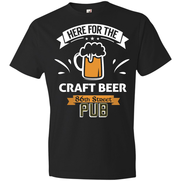 86th Street Pub Craft Beer T-Shirt Black / Medium - MyMerch.us