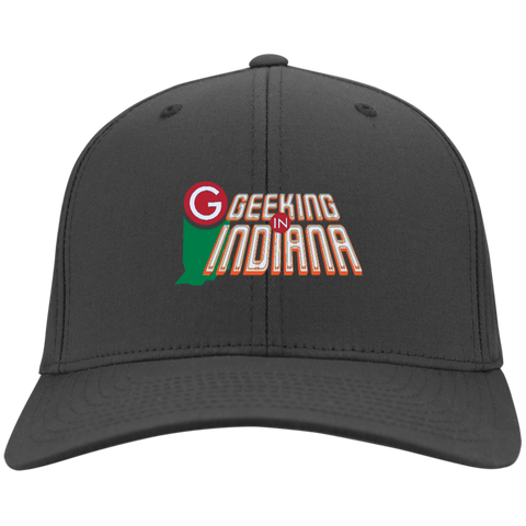Geeking in Indiana Hat Charcoal - MyMerch.us
