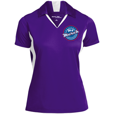 My Merch Ladies' Polo Purple/White / Small - MyMerch.us