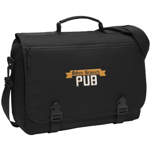 86th Street Pub Messenger Briefcase - MyMerch.us